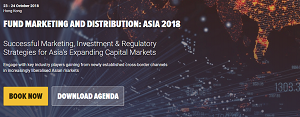 Meet us at Knect365's Fund Marketing & Distribution Asia 2018
